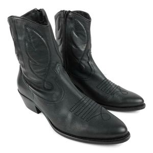 Topshop Arizona 2 Western Booties Leather 1565
